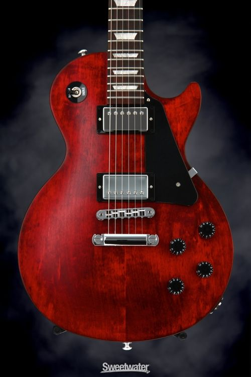 gibson les paul studio faded 2016 traditional worn cherry en 2019 les paul gallery gibson. Black Bedroom Furniture Sets. Home Design Ideas