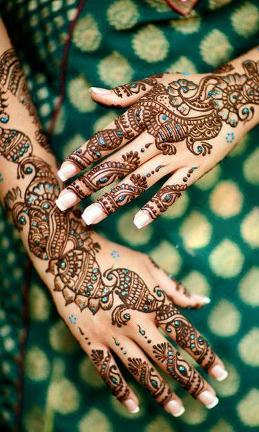 20 Beautful Henna Designs For Nikah: 10 Stunning Mehndi Designs For Arms To Try In 2019