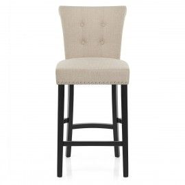 Stupendous Buckingham Bar Stool Cream Fabric Bar Stools Breakfast Dailytribune Chair Design For Home Dailytribuneorg