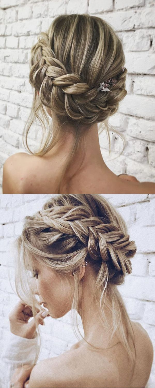 Unglaubliche Frisuren für Hochzeits- und Braut-Hochsteckfrisuren #frisur