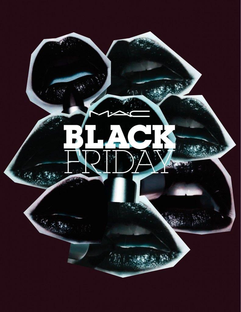 Black Knight MAC Cosmetics Black Lipstick