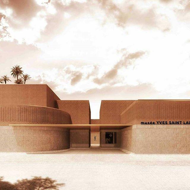 Jardin Yves Saint Laurent Marrakech: Located Next Door To The Jardin Majorelle, The Musée Yves