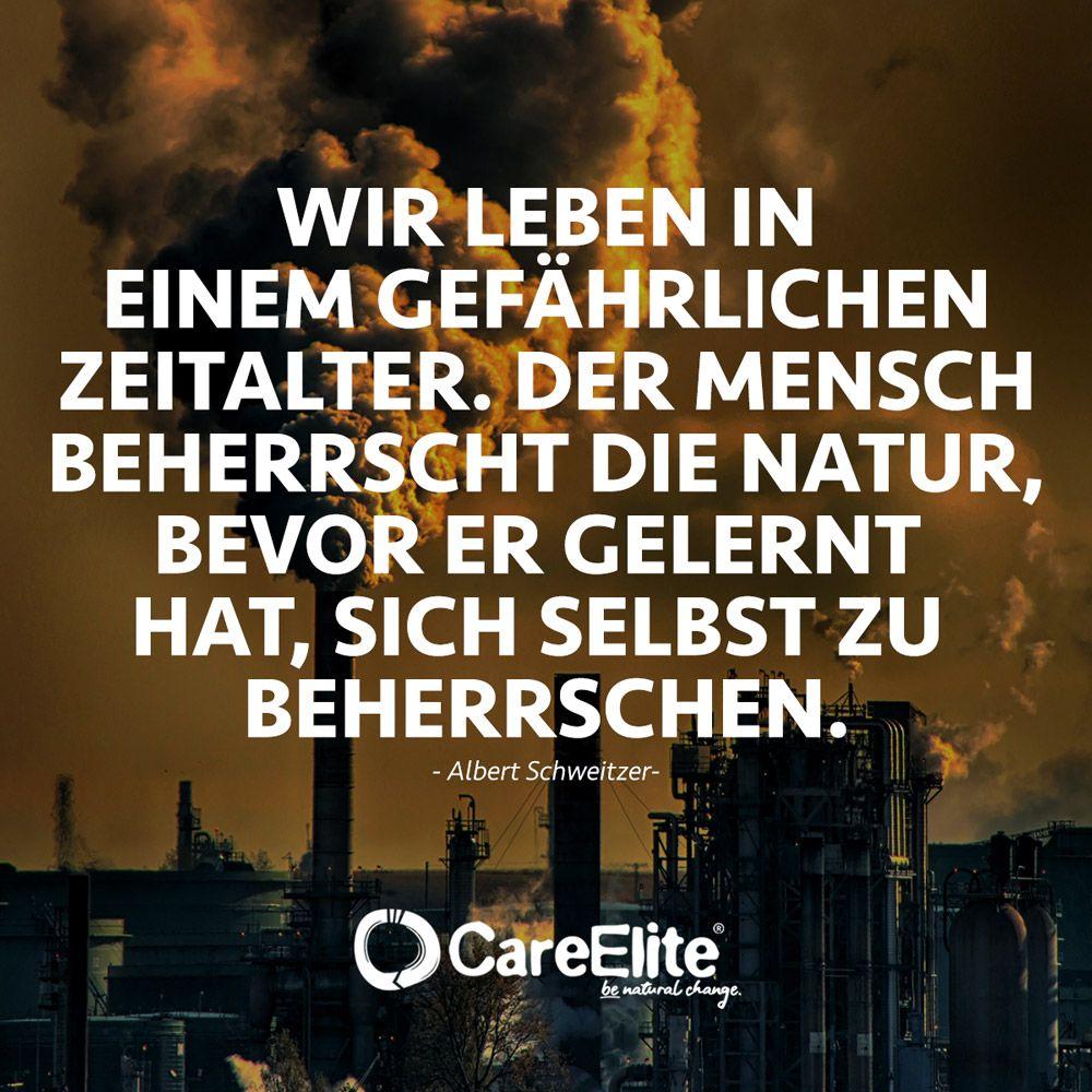 Umweltschutz Zitat Von Albert Schweitzer Zitate Umweltschutz Umwelt