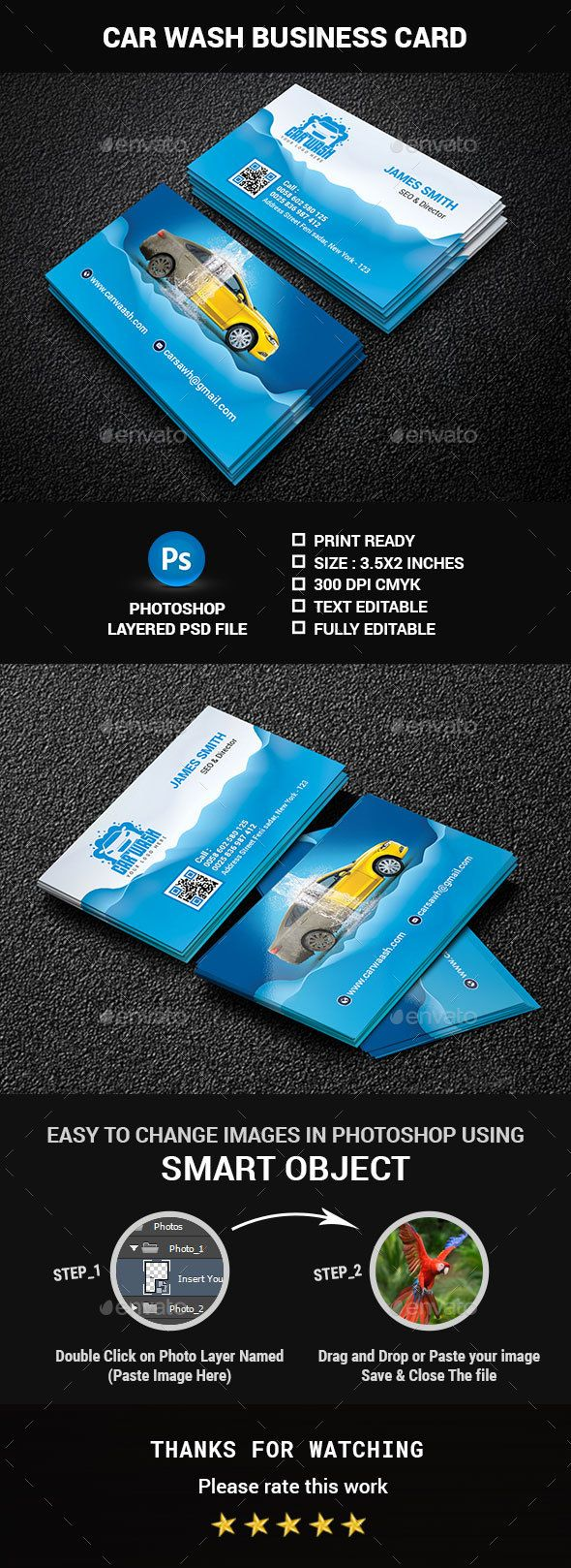 Car wash business card pinterest car wash business car wash and car wash business card creative business cards download here httpsgraphicriveritemcar wash business card 19968812refclassicdesignp colourmoves
