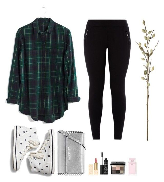 """Il fait beau"" by honeyrush on Polyvore featuring Madewell, Keds, MICHAEL Michael Kors, Tory Burch, NARS Cosmetics, Bobbi Brown Cosmetics and CB2"