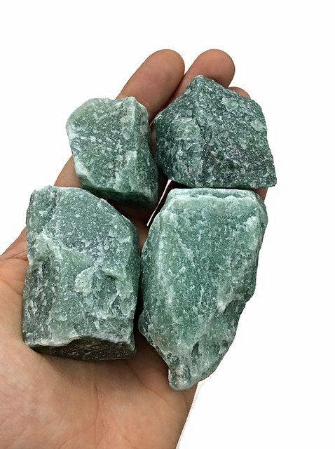 Raw Aventurine Crystal- Green Aventurine Stone- Rough
