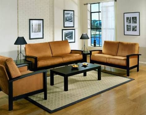 Wooden Living Room Furniture Images