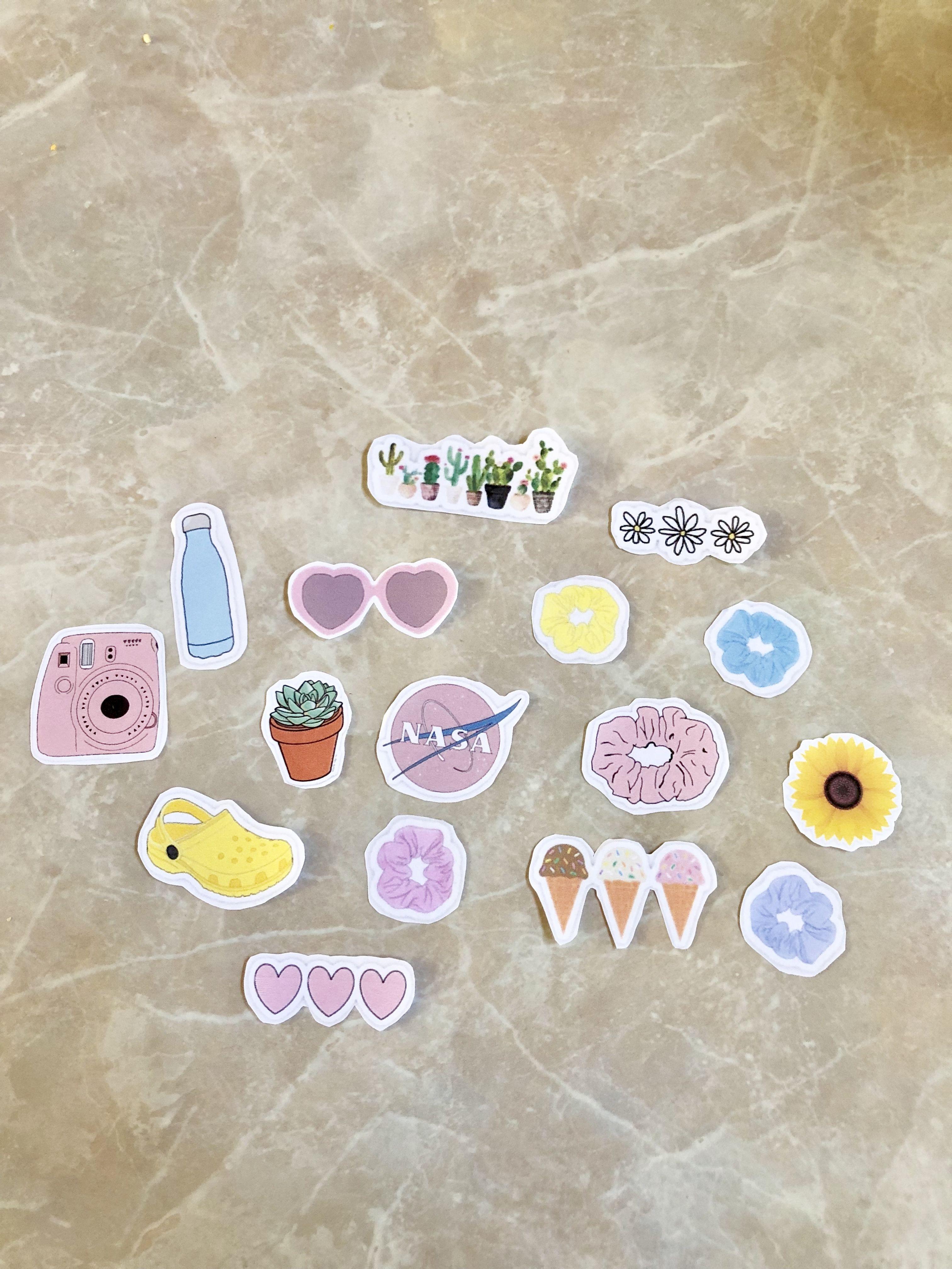 Diy Vsco Stickers Tik Tok Stickers How To Make