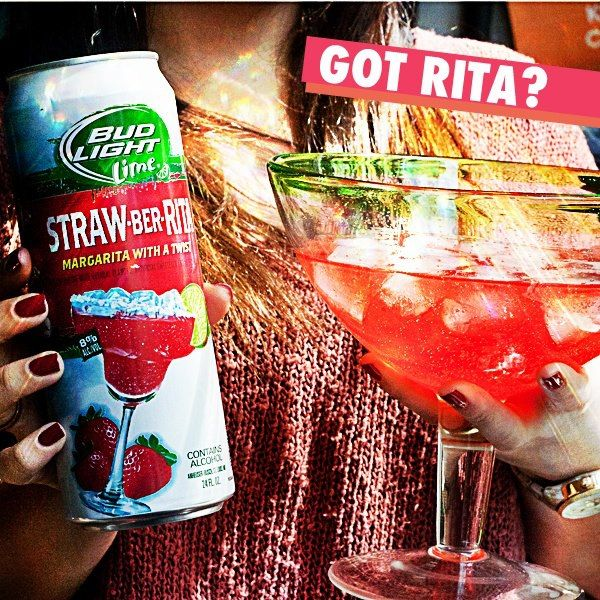 A Ready-to-drink 8 Percent ABV Strawberry Margarita