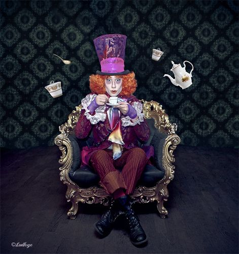 The Mad Hatter For Artenzo Productions Show Geneve Mad Hatter Mad Hatter Tea Party Fantasy Photography