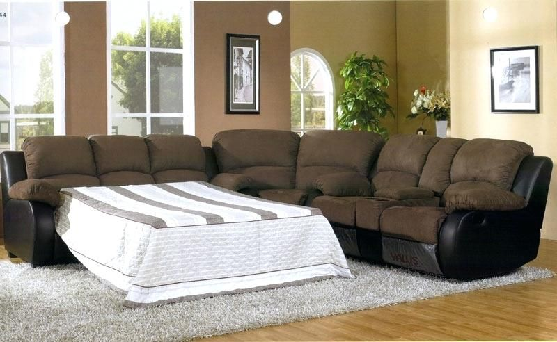 Microfiber Sectional Sleeper Sofa | Sofa | Sectional sleeper ...