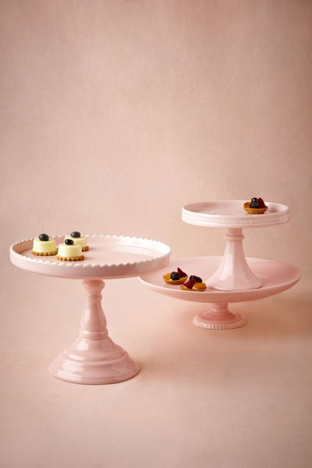 #Sweetest Day Cake Stands #BHLDN tabletop  #  tabletop