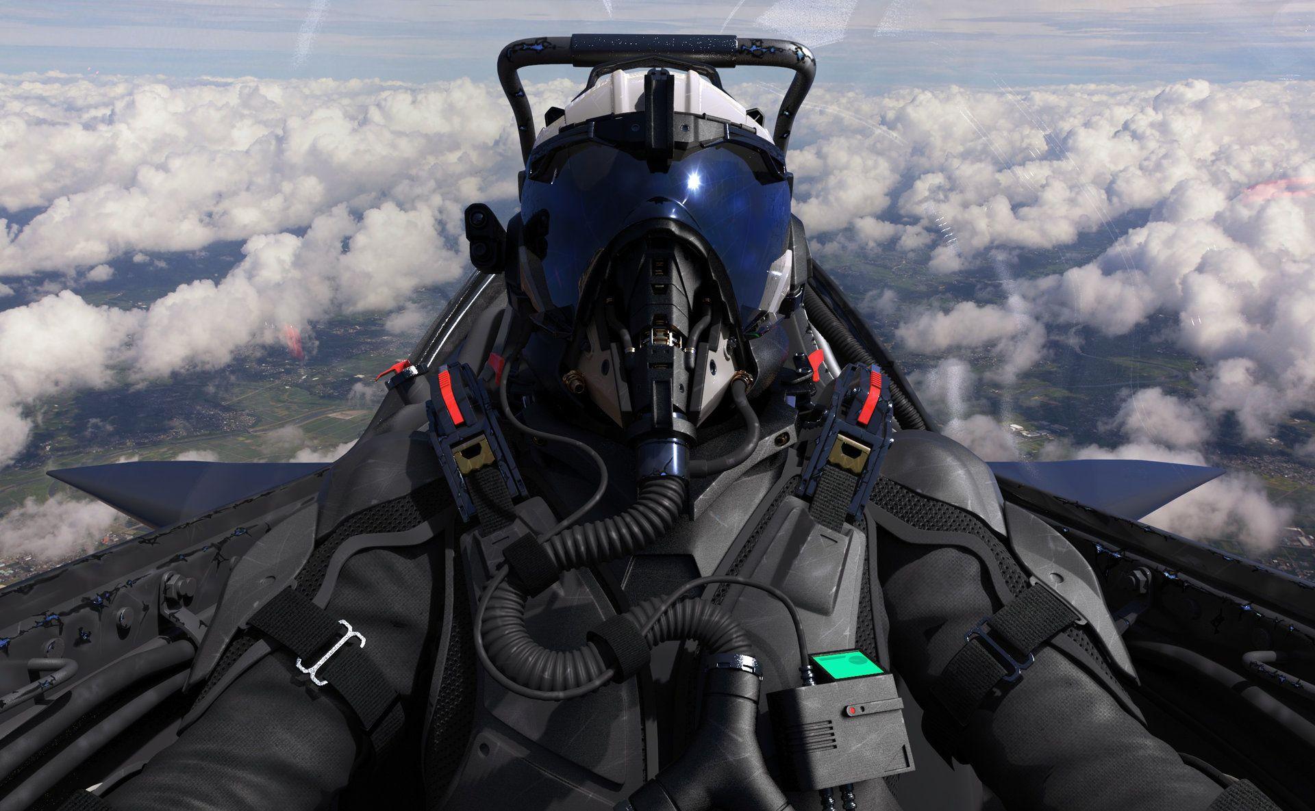 Fighter pilot wip david de leon fighter pilot jet