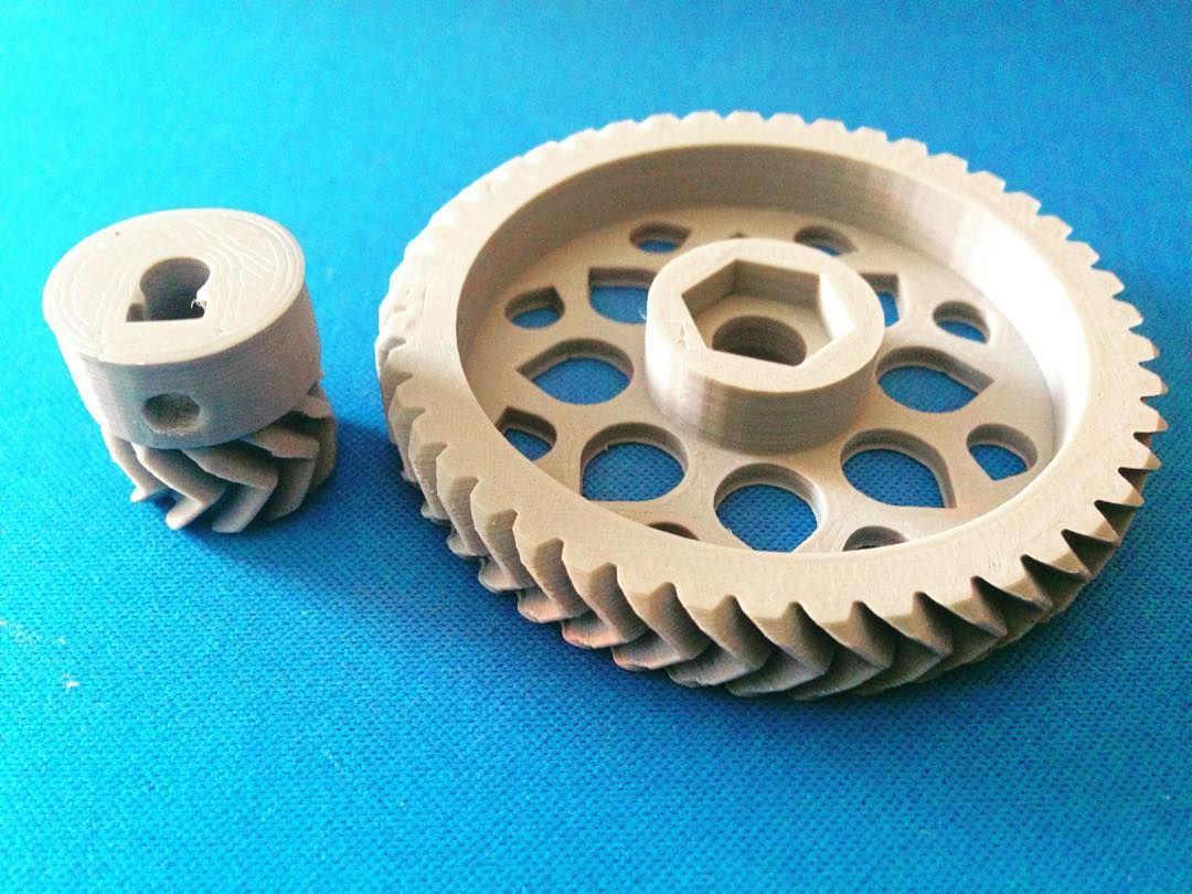 Something we liked from Instagram! #Gears Oh yea they fit perfectly!  #3dPrinted #Parts #for a #new #3dPrinter #AdamoParametrico #We3DPrint #WeCNC #WeMake #WeBuild #Machines #Technology #Makers #Designers #FutureArchitects #Prototype #Architecture #Models #SanJuan #PuertoRico #ArchiLovers #ArchiStudents #Students #Builders #Digital #Fabrication #Imadethat by camilaacuarelas check us out: http://bit.ly/1KyLetq