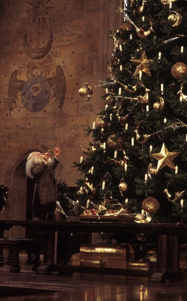 Harry Potter Christmas Tree Christmas Harry Potter Film Harry