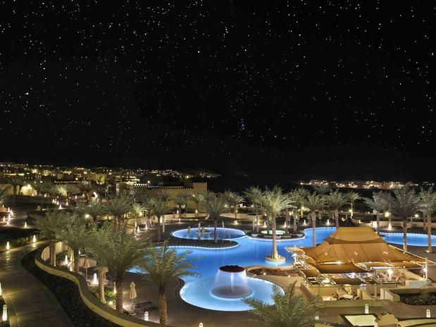 As piscinas mais bonitas do mundo: Qasr Al Sarab Desert Resort by Anantara, Abu Dhabi