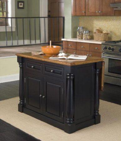 amazon: home styles 5008-94 monarch kitchen island