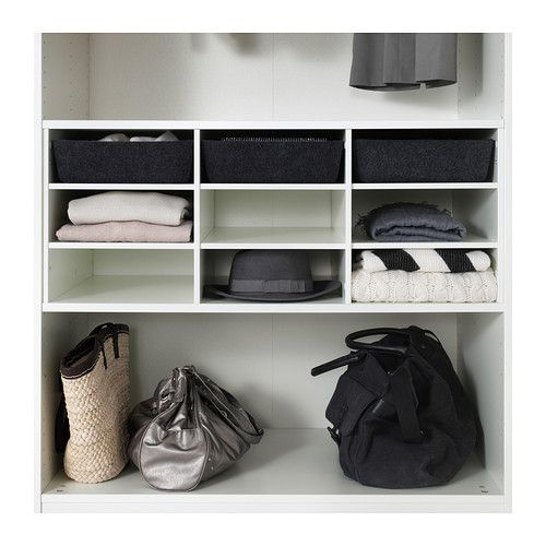 KOMPLEMENT Sectioned shelves IKEA 10-year Limited Warranty. Read about the terms in the Limited Warranty brochure.