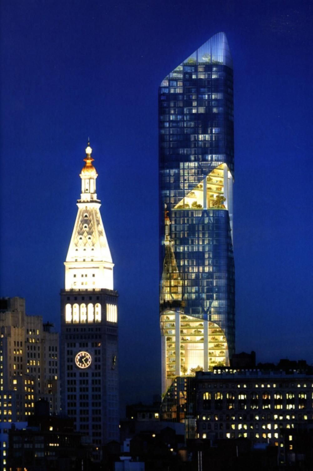 NEW YORK | One Madison Avenue | 937 FT / 285.6 M | 74 FLOORS - SkyscraperPage Forum