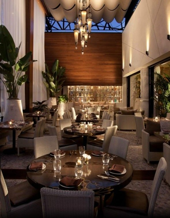 Elegant Restaurant Designs Elegant Mexican Cuisine Restaurant Interior Design Of Red O Elegant Restaurants Restaurant Interior Design Restaurant Interior