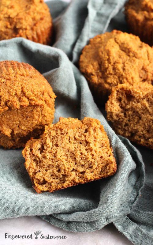 Coconut Flour Pumpkin Muffins #pumpkinmuffins
