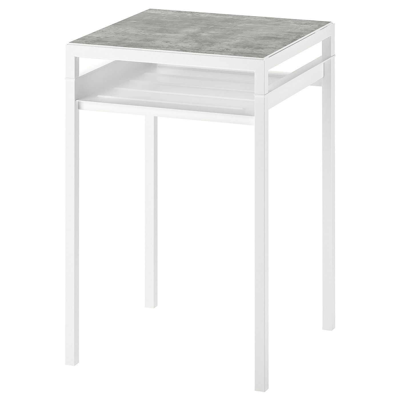 Nyboda Beistelltisch Wendbare Platte Hellgrau Betonmuster Weiss Ikea Osterreich In 2020 Table Top Lighting Side Table Table Top
