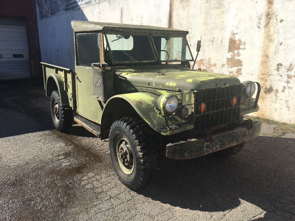 1952 Dodge Power Wagon Military | Military, Motor car and Dodge vehicles