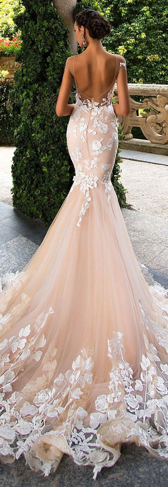 Wedding Dresses 37 07082017 Km Modwedding Wedding Dresses Dusty Pink Bridesmaid Dresses Wedding Dresses Lace [ 1633 x 564 Pixel ]