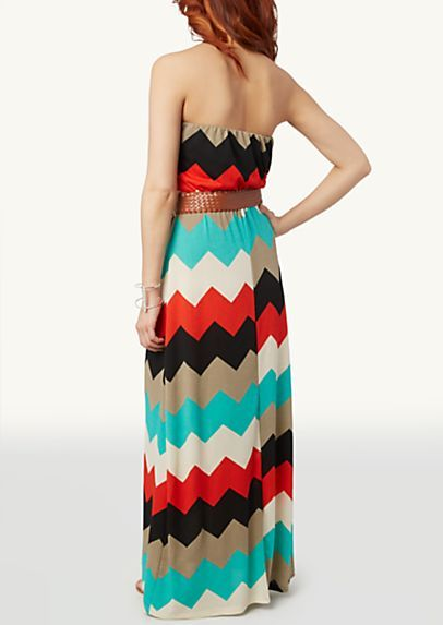 Belted Tube Maxi Dress @ Rue 21 $25.00