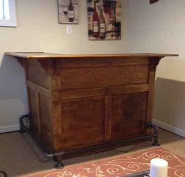 M s de 25 ideas incre bles sobre barra de madera en for Muebles de cocina zarate