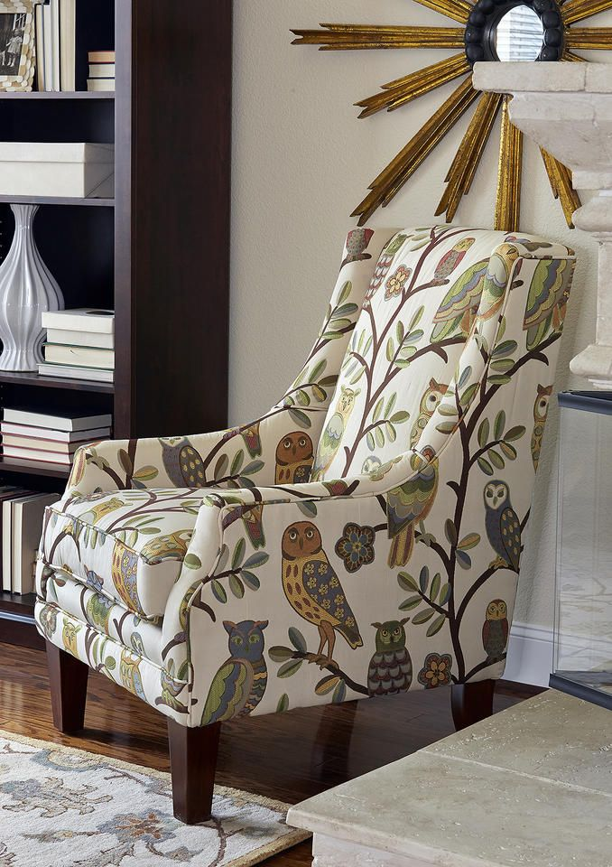 Make A Bold Statement In Your Space With This Owl Themed Accent Chair. An  Assortment Photo