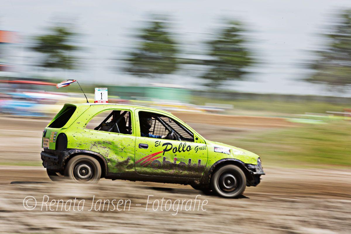 Autocross Nieuw Vennep - Panning