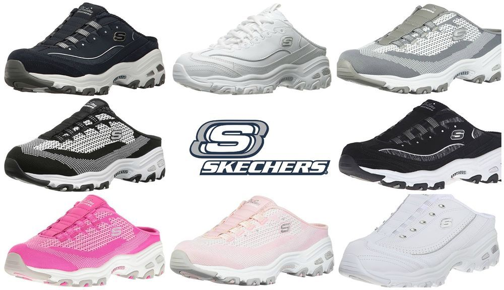 890c8422ede3 Skechers RESILIENT Sport Women s D Lites Slip-On Mule Sneaker Choose Size  Color  Skechers