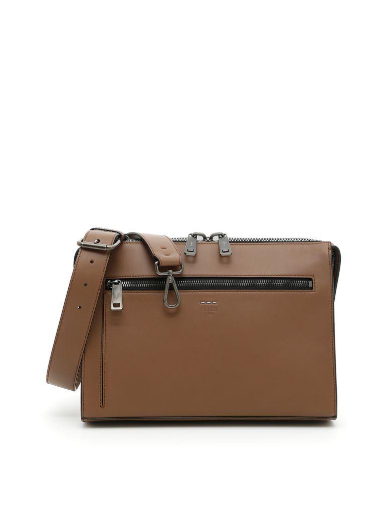 5d0873d998 FENDI Messenger Bag.  fendi  bags  shoulder bags  leather  lining ...