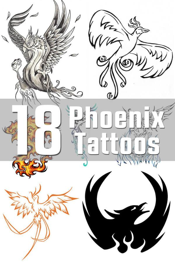 Phoenix Tattoo Designs - The Body is a Canvas