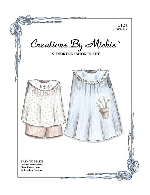 Sundress/Shorts #121 Set Sz 2-6 #121 | Special patterns | Pinterest ...