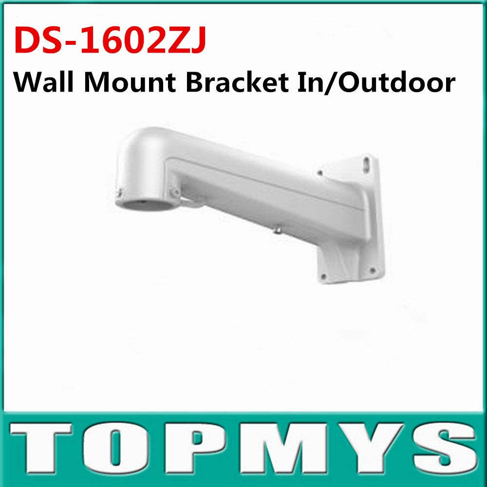Bracket Ds 1602zj White Aluminium Alloy Wall Mount Bracket For Hikvision Dome Ip Camera Bracket For Cctv I Cool Things To Buy Wall