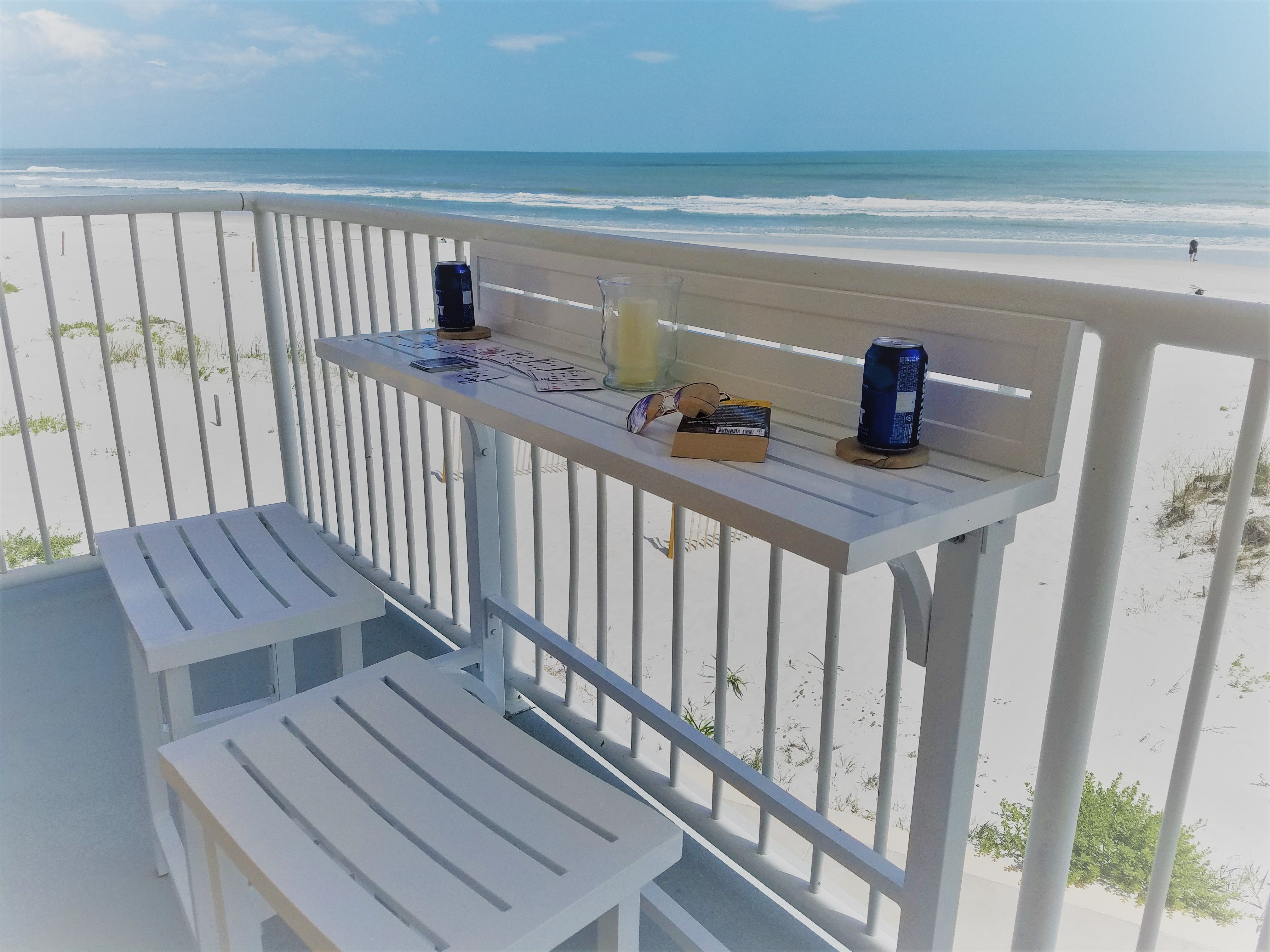 Apartment balcony ideas pictures to pin on pinterest - The Perfect Solution For Any Balcony The Miyu Furniture Balcony Bar Requires Minimal Area Yet Retains Complete Functionality The Sleek Design Allows You