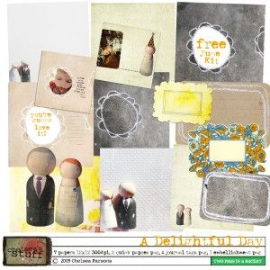 Free June Kit A Delightful Day Preview