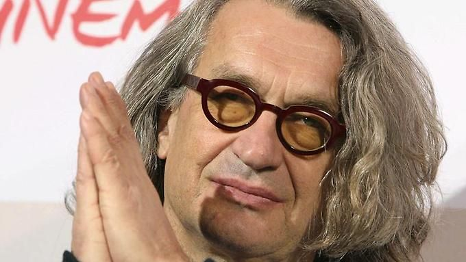 Give thanks to the cinema - and the cinema thanks him: Wim Wenders.