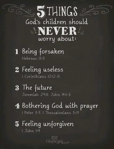 A good reminder for this worry-wart...