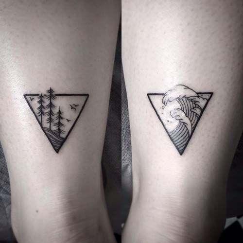 geometrik bilek dövmeleri geometric wrist tattoos 12