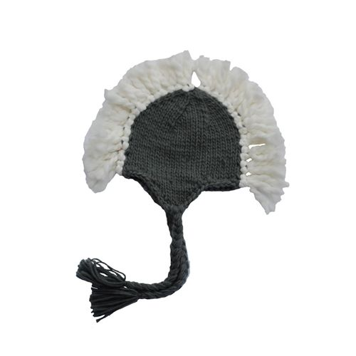 Blueberry Hill - Boy's 'Ben' Mohawk Hat - Gray