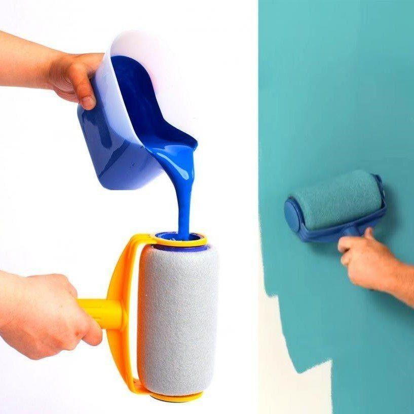 Buy Roller Brush Painting Handle Tool Roller Blinds Paint Runner Blinds