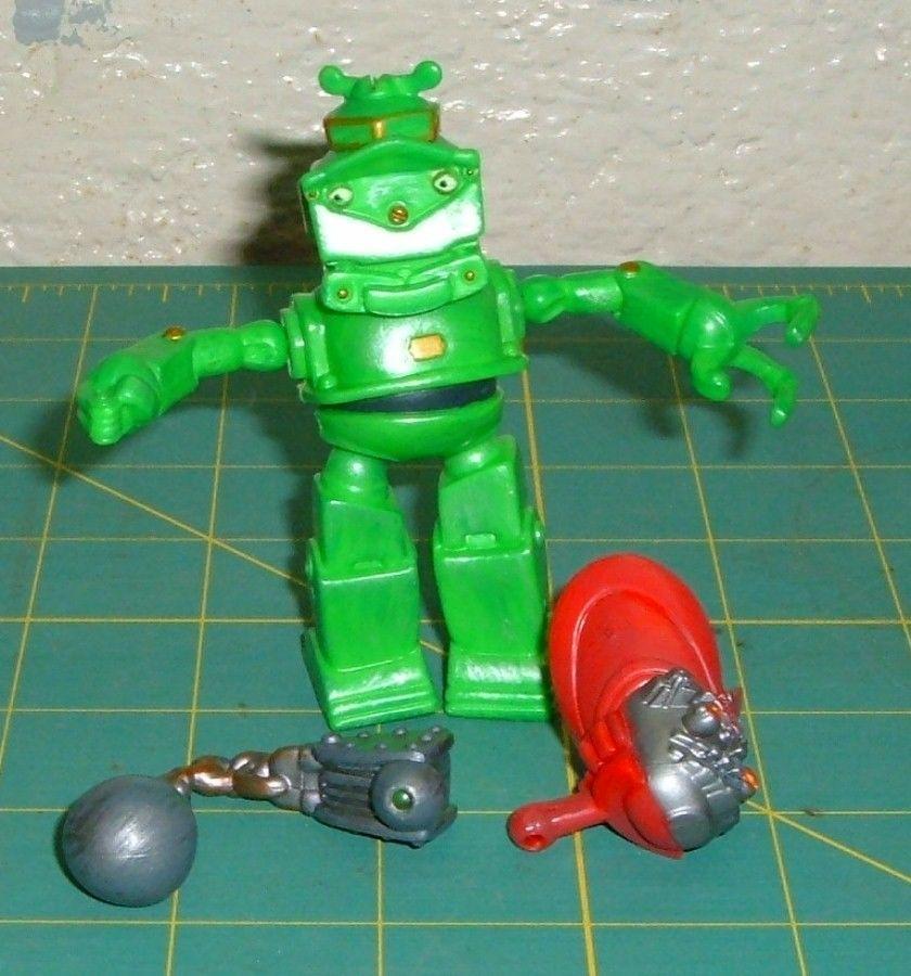 "Rare 2005 Lug 3.5"" Mattel Mix & Match Movie Action Figure"