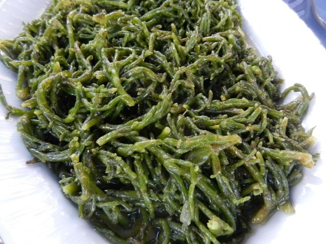 Turkish Steamed Samphire, 10 Delicious Turkish Dishes Which Are Made With Olive Oil