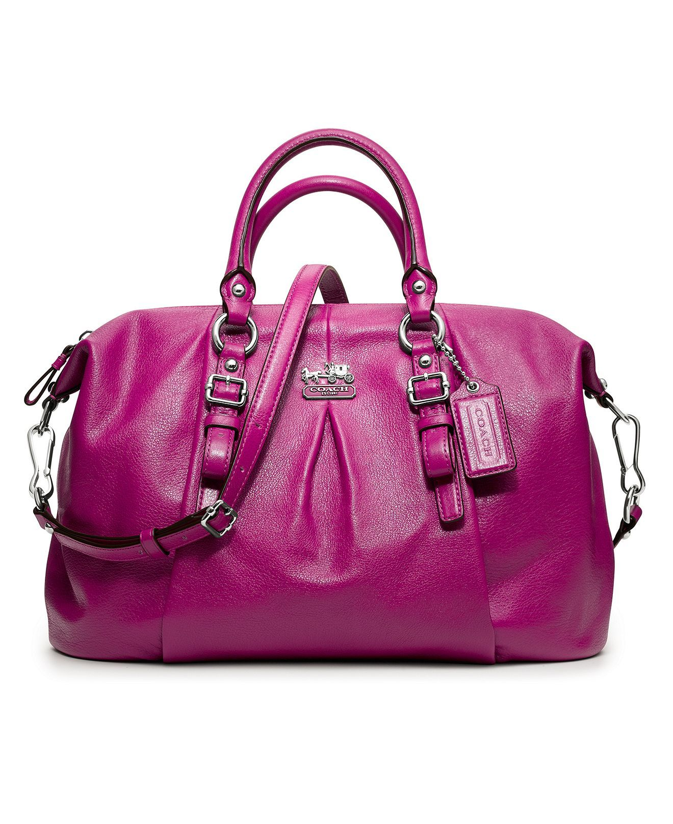c4eadd387409 COACH MADISON LEATHER JULIETTE - Madison Collection - COACH - Macy s ...