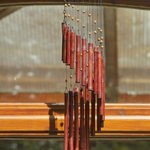 Repair Wind Chimes Using Replacement Nylon String