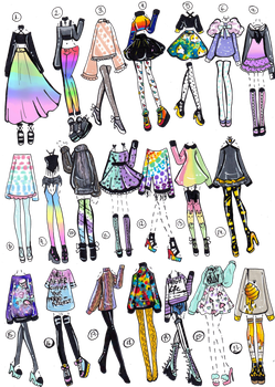 Outfit Ideas Outfit Ideas Drawn