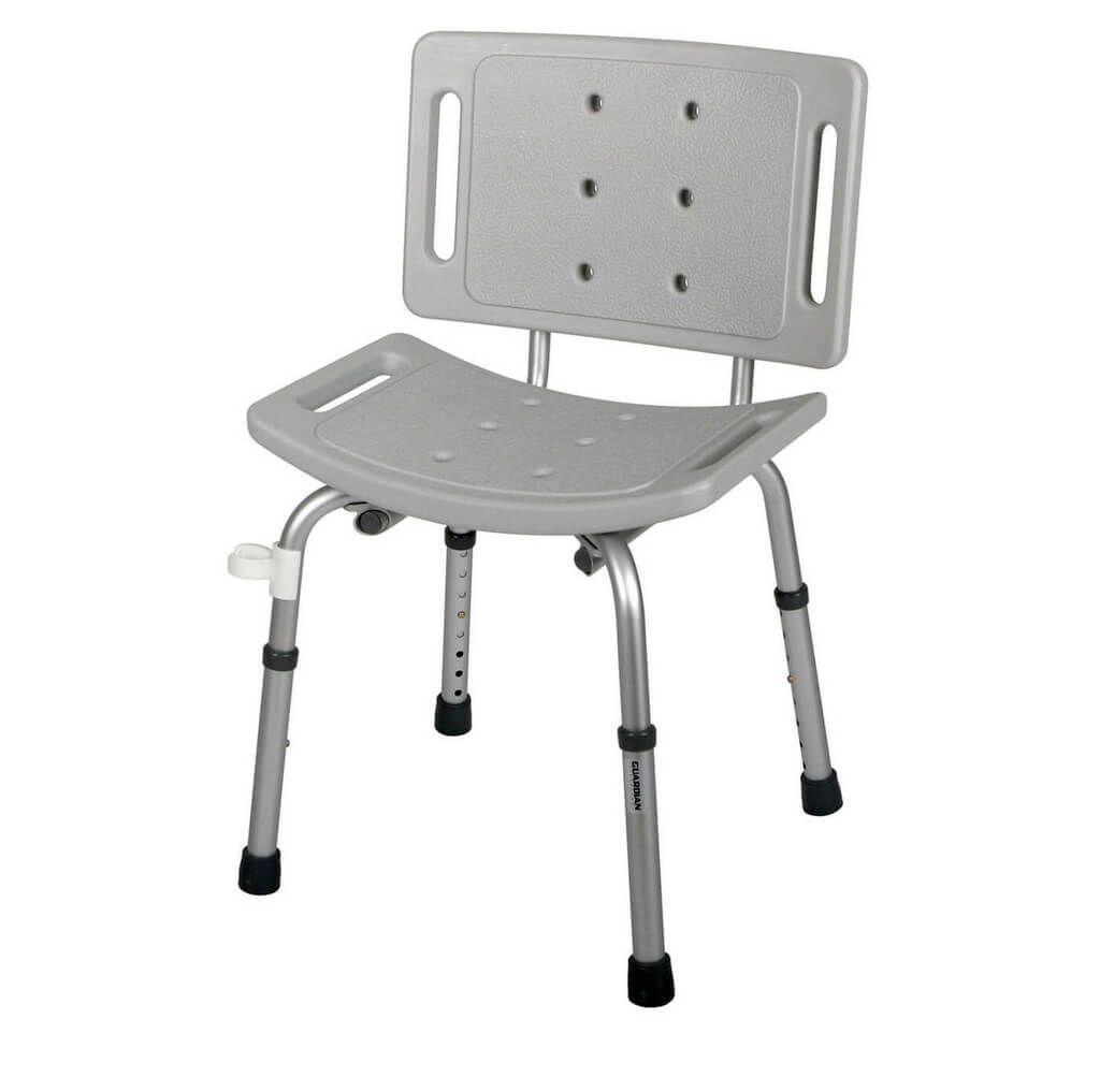 Nova Foldable Shower Chair With Back | http://jeremyeatonart.com ...